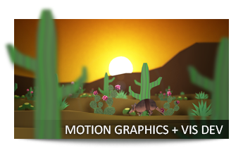 Motion Graphics + Vis Dev