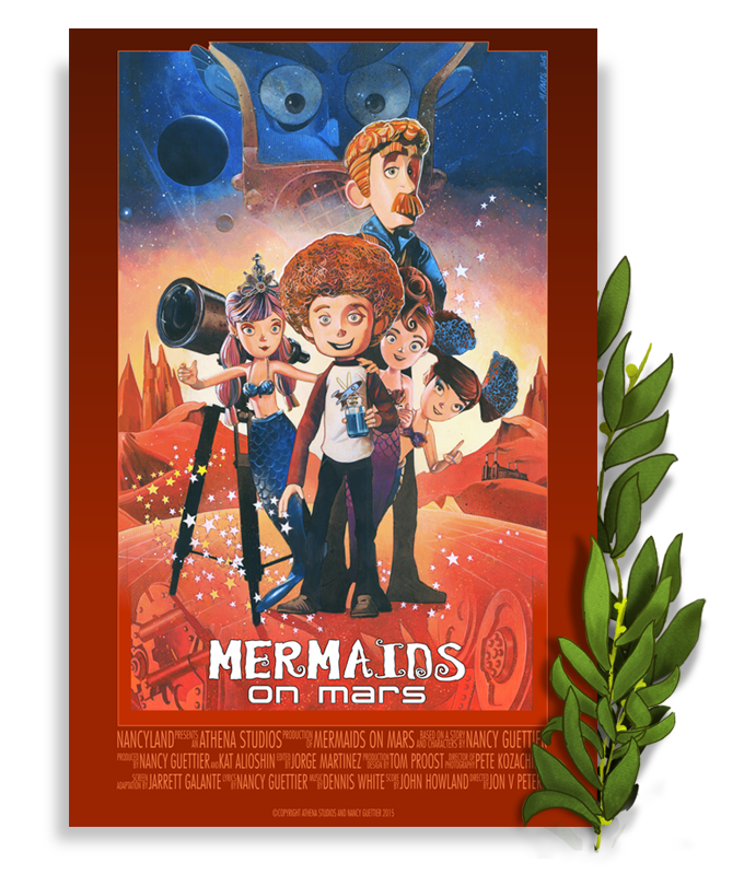 Mermaids on Mars Movie Poster