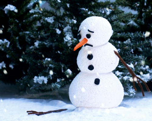the lonely snowman - dignity health
